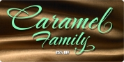 Caramel Family ROB font download