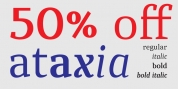 ataxia font download