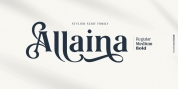 Allaina font download