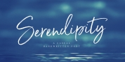 Serendipity font download