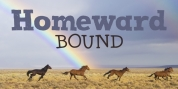 Homeward Bound font download