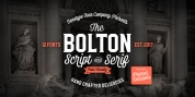 Bolton font download