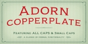 Adorn Copperplate font download