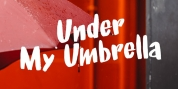 Under My Umbrella font download