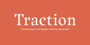 Traction font download