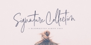 Signature Collection font download