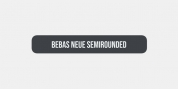 Bebas Neue Semi Rounded font download