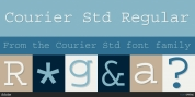 Courier Std font download
