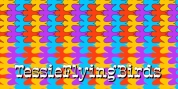 TessieFlyingBirds font download