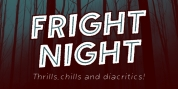 Fright Night font download