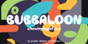 Bubbaloon font download