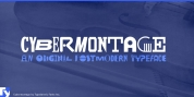 Cybermontage font download