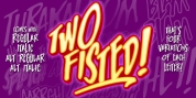 Two Fisted font download