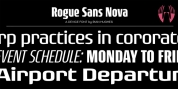 Rogue Sans Nova font download