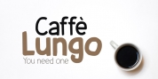 Caffe Lungo font download