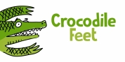 Crocodile Feet font download