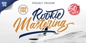 Rookie Mastering Typeface font download