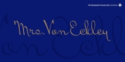 Mrs VonEckley Pro font download
