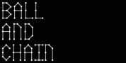 Ball And Chain font download