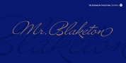Mr Blacketon Pro font download