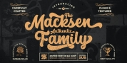 The Macksen font download