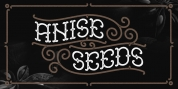 Anise Seeds font download
