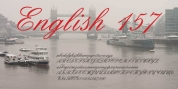 English 157 font download