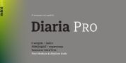 Diaria Pro font download