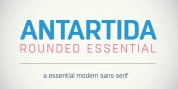 Antartida Rounded Essential font download
