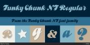 Funky Chunk NF font download