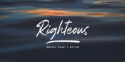 Righteous font download