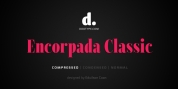 Encorpada Classic Compressed font download