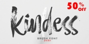 Hello Kindess Brush font download