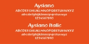 Aysiano font download