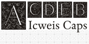 Ichweis Caps font download