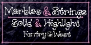 WILD2 Marbles & Strings font download