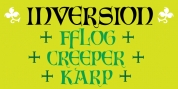 Inversion font download