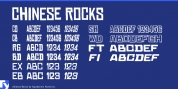 Chinese Rocks font download