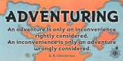 Adventuring font download