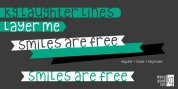 KG Laughter Lines font download