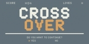 YWFT Crossover font download
