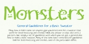 RB Monsters font download