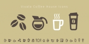 Vivala Coffee House Icons font download