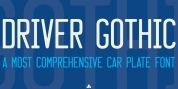 Driver Gothic font download