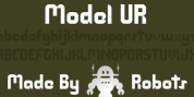 Model UR font download