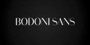 Bodoni Sans Display font download