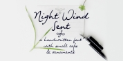 Night Wind Sent font download
