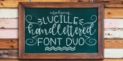 Lucille Handlettered Fonts font download