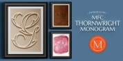 MFC Thornwright Monogram font download