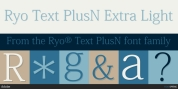 Ryo Text PlusN font download